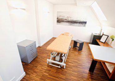 Behandlungsraum Praxis für Osteopathie