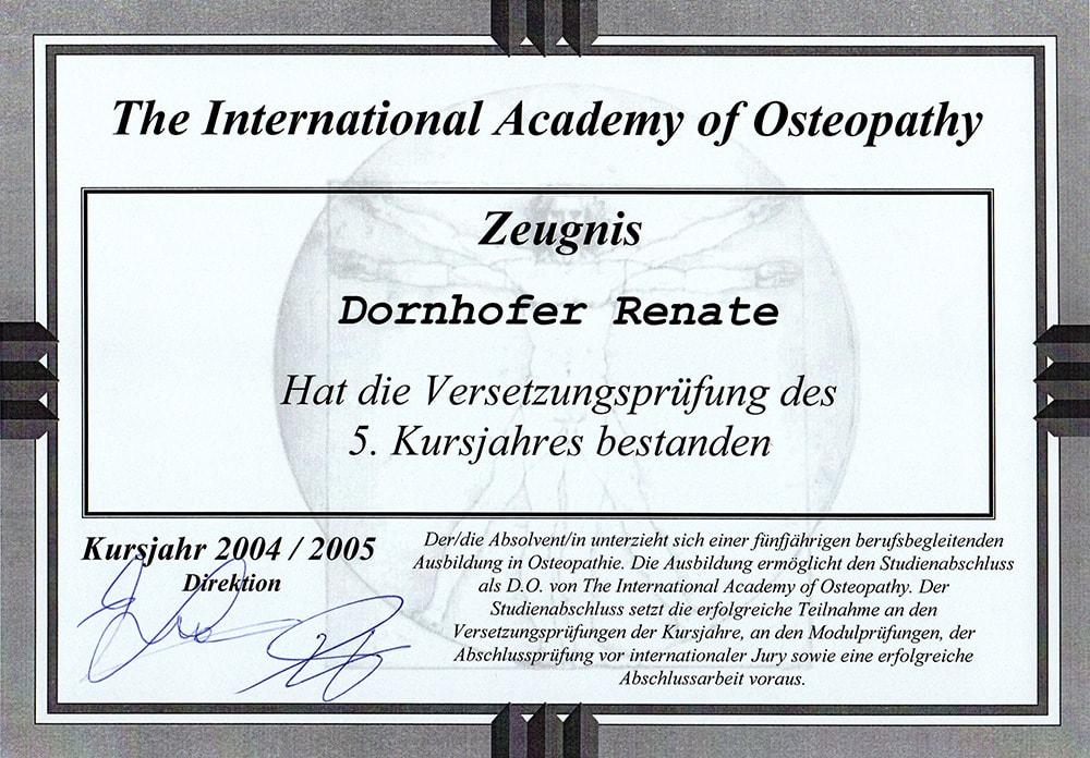 Renate Dornhofer - Osteopathie in Kirchheim unter Teck